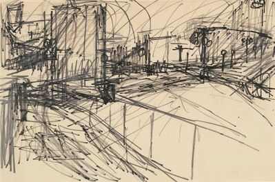 Frank Auerbach, 'Drawing for Mornington Crescent'