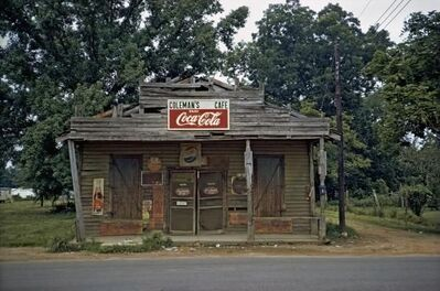 William Christenberry, 'Coleman's Cafe, Greensboro, Alabama,', 1973