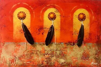 BRAD STROMAN, 'Sun Worshipers '