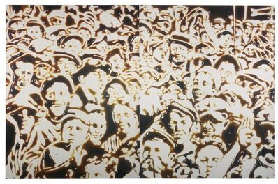 Vik Muniz, 'Summer ( chocolate sauce series)  ', 1999