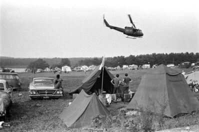Baron Wolman, 'Woodstock 1969, Helicopter', 1969