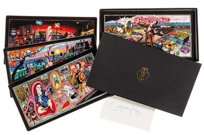 "Grayson Perry, '""THE VANITY OF SMALL DIFFERENCES"" SET OF SIX POSTCARDS IN BOXSET', 2012"