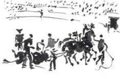 Pablo Picasso, 'La Tauromaquia portfolio ', 1957