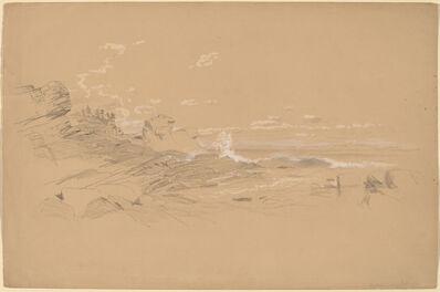 Aaron Draper Shattuck, 'Maine Coast', 1861