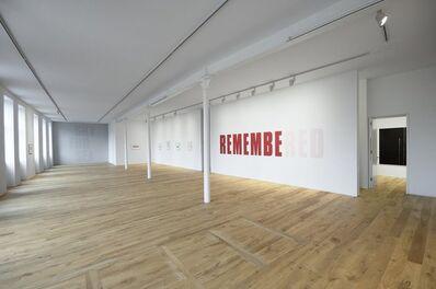 Kay Rosen, 'Memory of Red', 2008