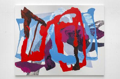 Blandine Saint-Oyant, 'Ha Ça ira (red) 1', 2020