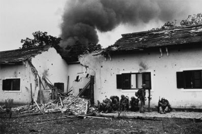 Don McCullin, 'Damaged schoolhouse, Tet offensive, Hue, Vietnam', 1968