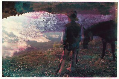 Robert Farber, 'Cowboy at Pond', 2018