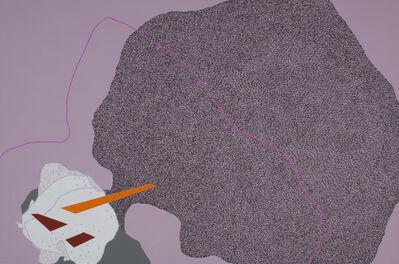 Zsófi Barabás, 'Urban histology-pink line', 2014