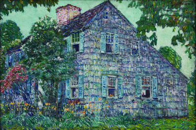 Childe Hassam, 'Old House, East Hampton', 1917