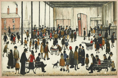 Laurence Stephen Lowry, 'Punch and Judy [SP21]', 1943