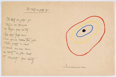 """Joan Miró, '""""Il était une petite pie"""" (There Was a Little Magpie) – Sheet II', 1928"""
