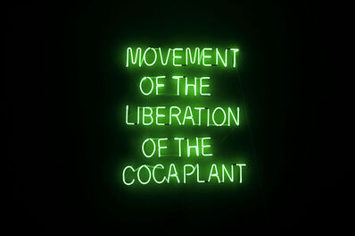Wilson Diaz, 'Movement for the liberation of the coca plant', 2021