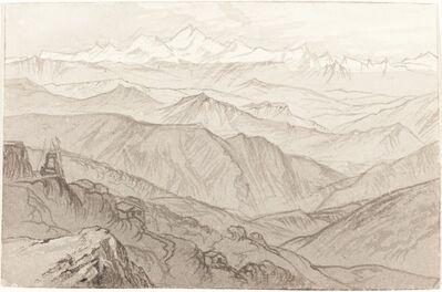 Edward Lear, 'Mount Kinchinjunga (All Things Fair)', 1874