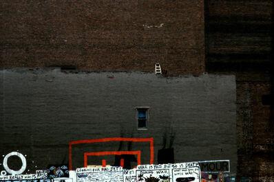 Frank Horvat, 'Tribeca, wall ladder, graffiti, NY, USA', 1984