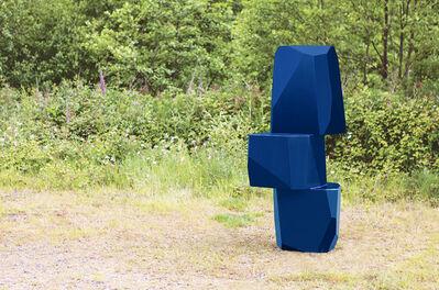 ARIK LEVY, 'RockStoneTripleShift Blue', 2015