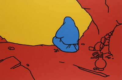 Patrick Caulfield, 'Hermit', 1967