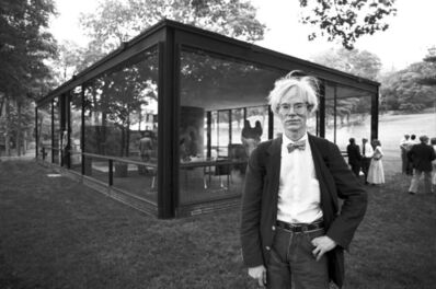 Christopher Makos, 'Andy Glass House', 1981