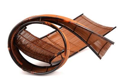 "Honma Hideaki, 'Japanese Bamboo Sculpture""Twin Wind""'"