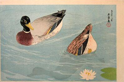 Goyo Hashiguchi, 'Pair of Ducks', ca. 1920