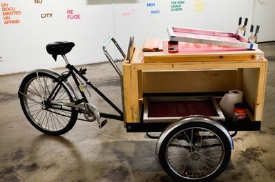 Sergio de la Torre & Chris Treggiari, 'Sanctuary Mobile Print Cart', 2017