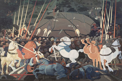 Zhang Gong, 'Mickey Mouse and Donald Duck at War', 2013