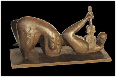 Alexandra Nechita, 'ALEXANDRA NECHITA Rebirth Of Words BRONZE SCULPTURE Signed Petite Picasso Art', 21st Century
