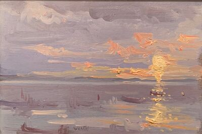 Robbie Wraith, 'Whitstable Sunset', 2019