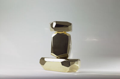 ARIK LEVY, 'MicroRocks (brass)', 2010