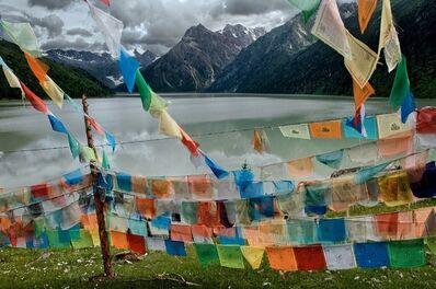 Steve McCurry, 'Tibetan Flags, Tibet, 2005', 2005