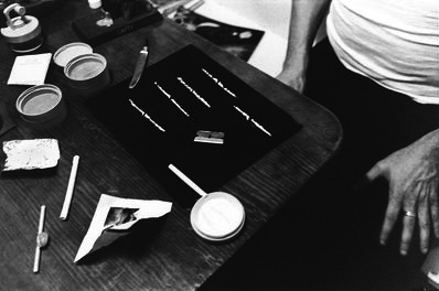 Anthony Friedkin, 'Lines of Cocaine, Los Angeles, California', 1978
