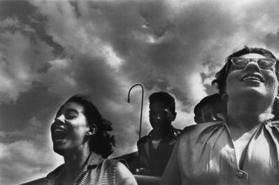 Harold Feinstein, 'Girls Riding the Cyclone, Coney Island', 1952