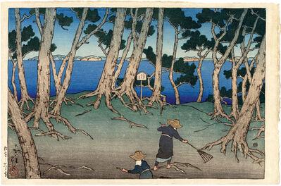 Kawase Hasui, 'Katsura Island, Matsushima', ca. 1919