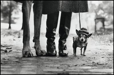 Elliott Erwitt, 'Felix, Gladys & Rover. New York', 1974