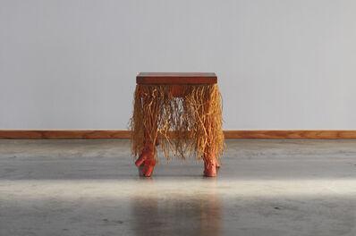 Elizabeth Garouste and Mattia Bonetti, '1985 Elisabeth Garouste & Mattia Bonetti 'Prince Impérial' stool for Galerie Néotu', ca. 1985