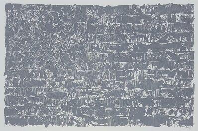 Jasper Johns, 'Flag III', 1975