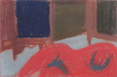 George Segal, 'Untitled (Red Nude)', 1963