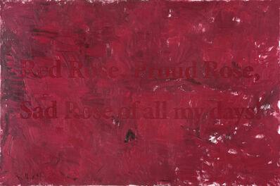Huang Rui 黄锐, 'Red Rose', 2012