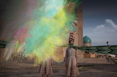 Almagul Menlibayeva, 'My Silk Road to You VII', 2015