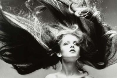 Richard Avedon, 'Twiggy, hair by Ara Gallant, Paris studio', January 1968