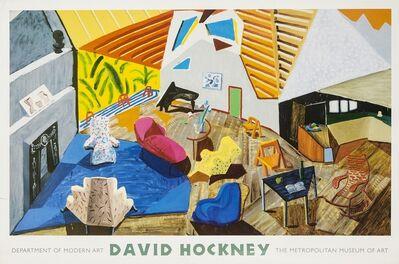 After David Hockney, 'A poster for The Modern Art Department: David Hockney'