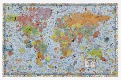 Amanda Ross-Ho, 'World Map #2', 2015