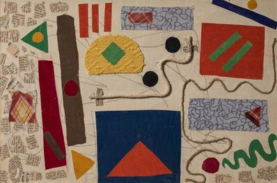 Benode Behari Mukherjee, 'Abstract Composition'