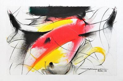 Sujth Kumar G.S. Mandya, 'Bull Painting - 686', 2018