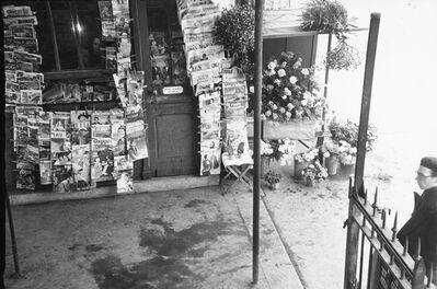 Robert Frank, 'Paris (magazine stand)', 1949