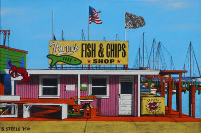 Ben Steele, 'Haring's Fish and Chips', 2019