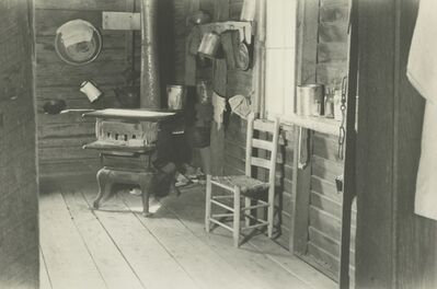 Walker Evans, 'Kitchen in Floyd Burroughs's Home, Hale County, Alabama', 1936