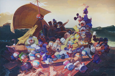 Zhang Gong, 'The Raft of the Medusa', 2013