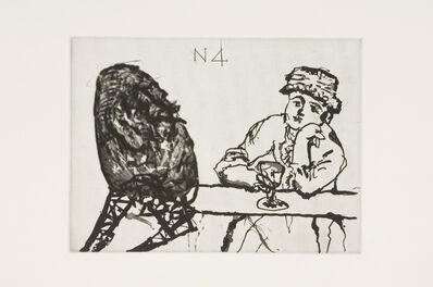 William Kentridge, 'Nose 4', 2007