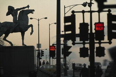 René Burri, 'Traffic Lights, Chicago', 1971